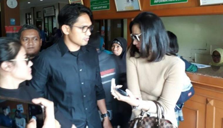 Ibnu jamil dan Ade maya. (Dok: Tribunnews)