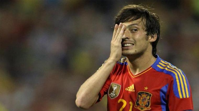 David Silva. (Dok: Tribunnews)
