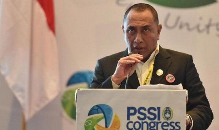 Ketua Umum PSSI, Edy Rahmayadi. (Dok: Breakingnews)