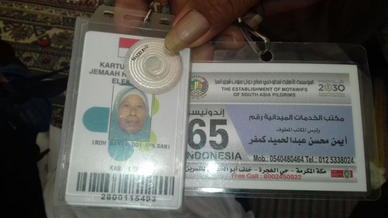 Almarhumah Iroh (72) jemaah haji asal Kabupaten Lebak yang meninggal di Makkah. (Foto: TitikNOL)