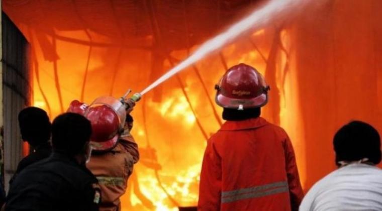 Ilustrasi kebakaran. (Dok: Faktualnews)
