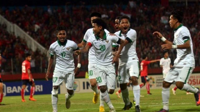 Sejumlah Pemain Timnas Indonesia U-16. (Dok: Tribunnews)