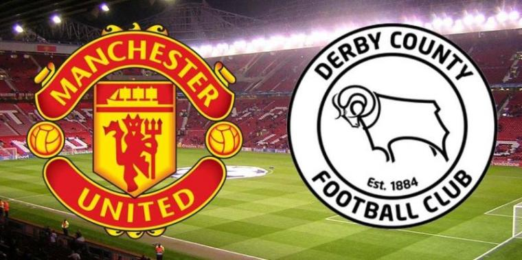 Manchester United vs Derby County. (Dok: Arsedevils)