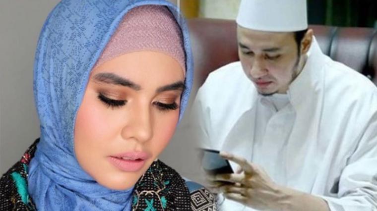 Kartika Putri dan Habib Usman. (Dok: Tribunnews)