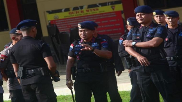 Brimob Polda Banten. (Dok: Kabarbanten)