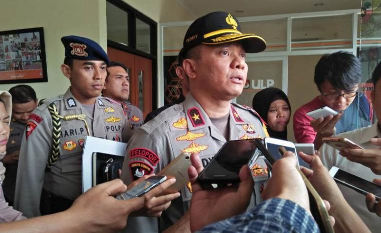 Kapolda Banten Brigjen Pol Teddy Minahasa. (Foto: TitikNOL)