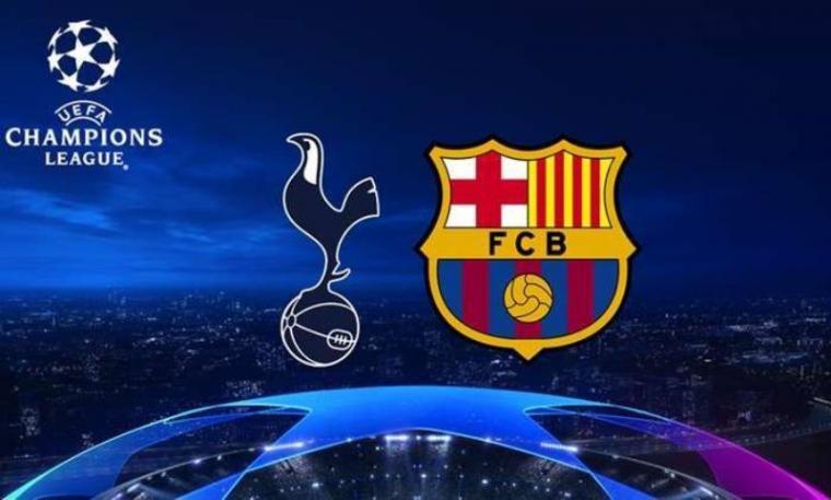 Tottenham Hotspur vs Barcelona. (Dok: Sportskeeda)