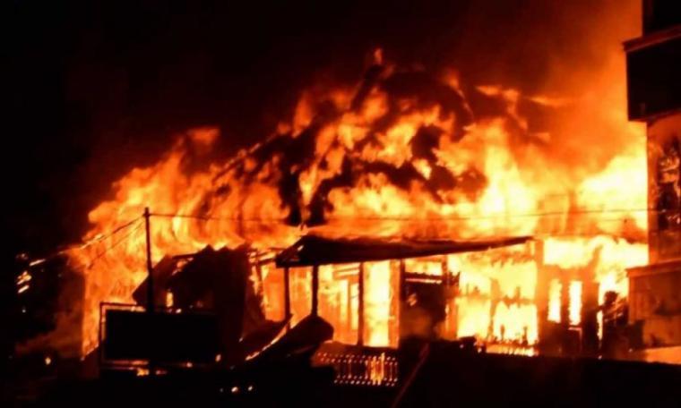 Ilustrasi kebakaran. (Dok: Garudanews)