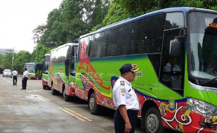 Bus Rapid Transit (BRT) Kota Tangerang. (Dok: Detik)