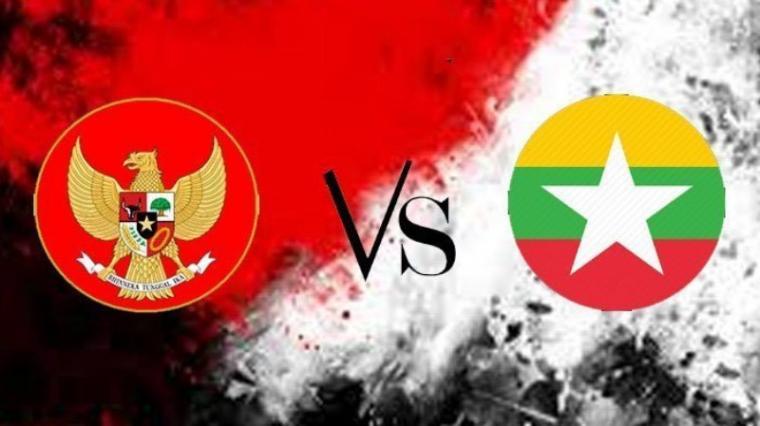 Timnas Indonesia vs Myanmar. (Dok: Tribunnews)
