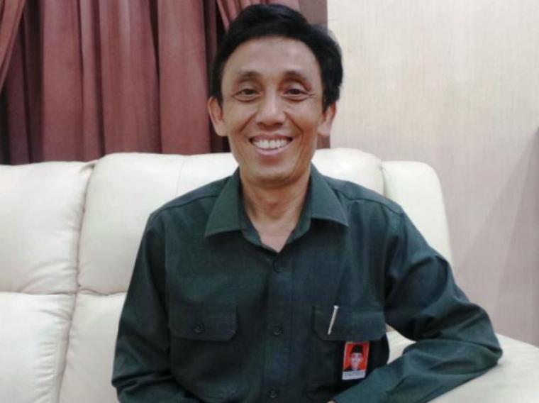 Kepala BPS Provinsi Banten Agoes Subeno. (Foto: TitikNOL)