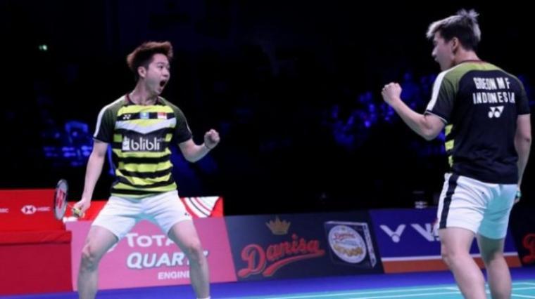 Hentikan Ganda Putra Tiongkok, Kevin/Marcus Juara di Fuzhou China Open 2018