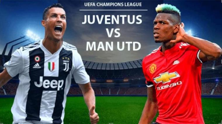 Juventus vs Manchester United. (Dok: Tribunnews)