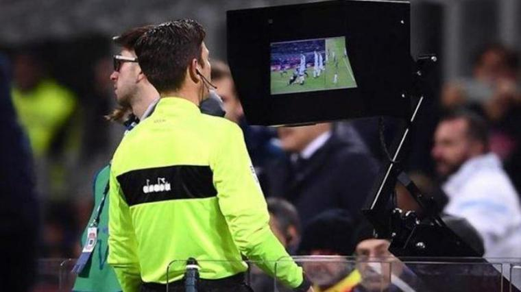 Teknologi VAR (Video Assistant Referees). (Dok: Tribunnews)