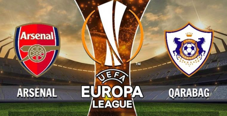 Arsenal vs Qarabag. (Dok: Beritabolaterkini)