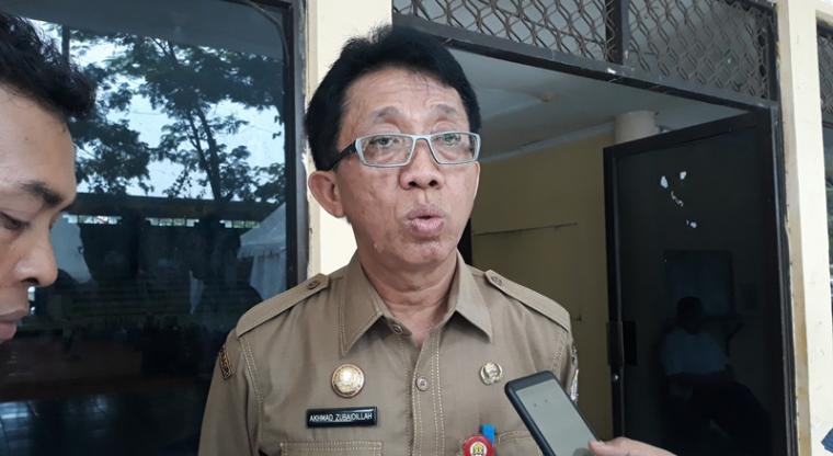Kepala Dindikbud Kota Serang Akhmad Zubaidillah. (Foto: TitikNOL)