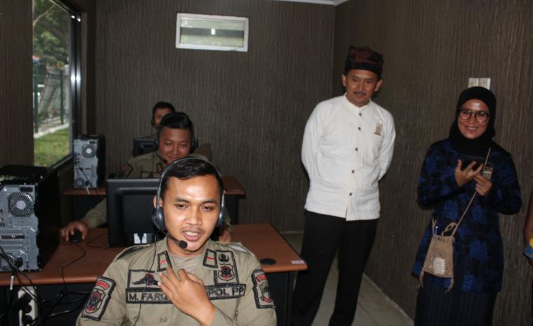 layanan call center 112 Pemkab Lebak. (Foto: Ist)