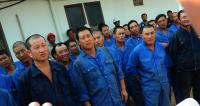 Dirjen Hubdar Kemenhub, Budi Setiyadi meresmikan KMP Neomi di Pelabuhan Merak. (Foto: TitikNOL)