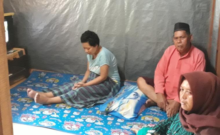 Rumsiah warga kampung Kedung Leles, Kecamatan Kasemen, Kota Serang. (Foto: TitikNOL)