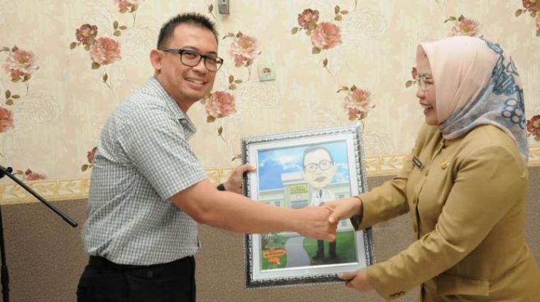 Sertijab direktur RSUD Adjidarmo Rangkasbitung, Kabupaten Lebak. (Foto: TitikNOL)