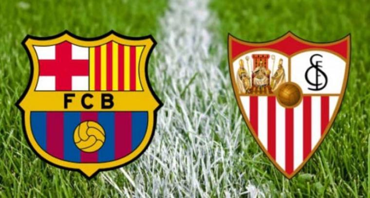 Barcelona vs Sevilla. (Dok: Radarcirebon)
