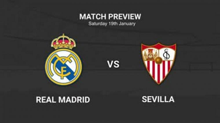 Real Madrid vs Sevilla. (Dok: Foxsportsasia)