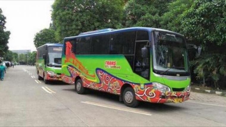 Bus Trans Tangerang. (Dok: Metaonline)