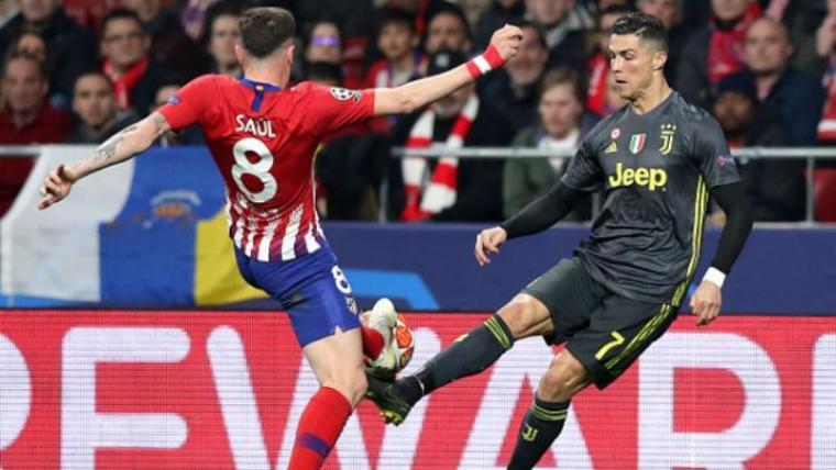 Hasil Pertandingan Liga Champions, Atletico Madrid vs Juventus Skor Akhir 2-0