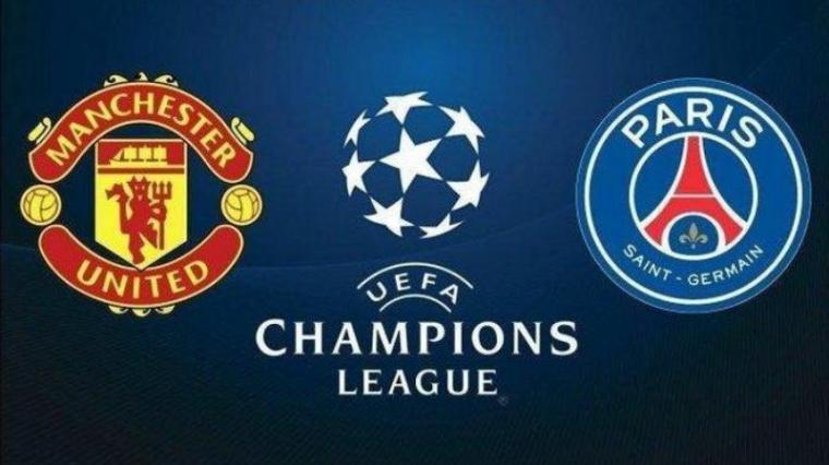 Manchester United vs PSG. (Dok: Tribunnews)