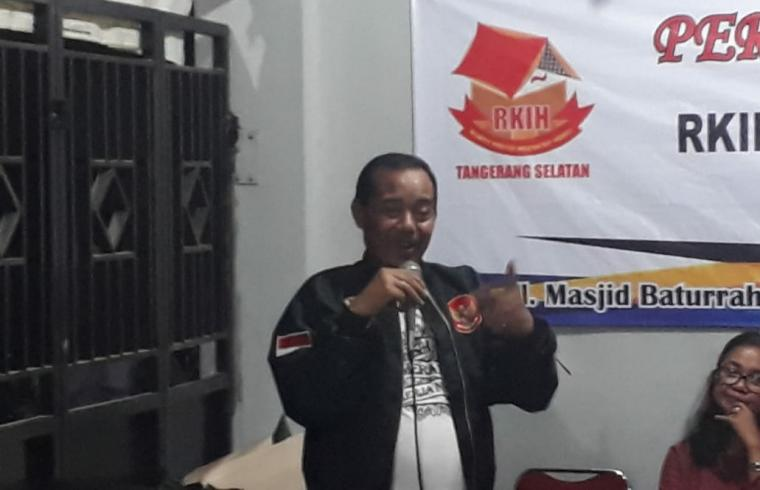 Ketua Umum Rumah Kreasi Indonesia Hebat (RKIH) Kris Budihardjo. (Foto: TitikNOL)