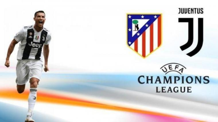 Atletico Madrid vs juventus (Dok: Tribunnews)