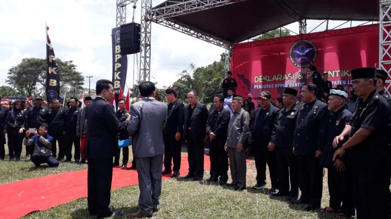 Suasana pelantikan BPPKB Cabang Kabupaten Lebak. (Foto: TitikNOL)