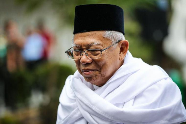 KH. Maruf Amin. (Dok: Kompas)