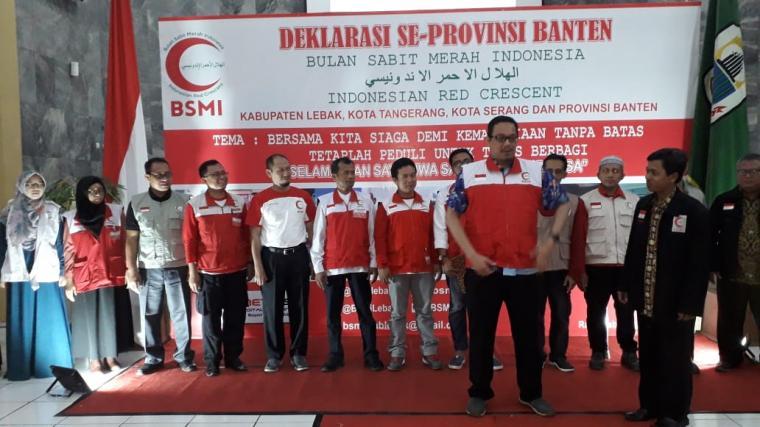 Suasana pelantikan pengurus BSMI provinsi Banten. (Foto: TitikNOL)
