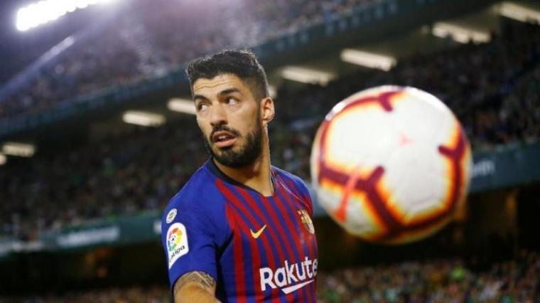 Cedera, Barcelona Terancam Tanpa Suarez saat Lawan Manchester United
