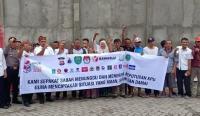 Deklarasi damai sejumlah Masyarakat Kelurahan Cijoro Lebak Kecamatan Rangkasbitung Kabupaten Lebak. (Foto: TitikNOL)