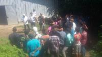 Tahanan yang ditahan di Mapolres Serang. (Foto: TitikNOL)
