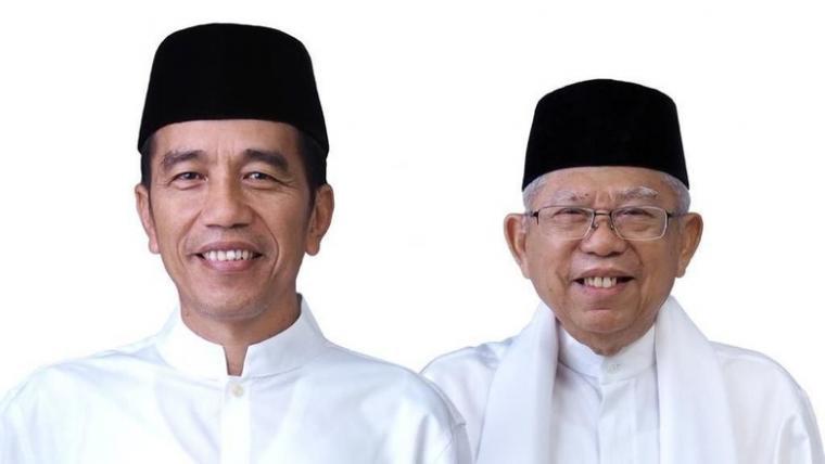 Jokowi-Ma'ruf Amin. (Dok: Detik)
