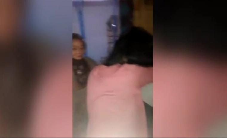 Video penggerebekan yang tengah viral di media sosial. (Foto: TitikNOL)