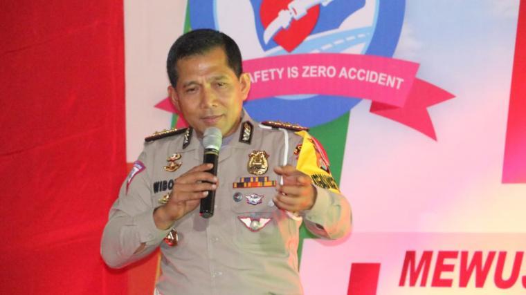 Direktur Lalulintas Polda Banten, Kombes Pol Wibowo. (Foto: TitikNOL)