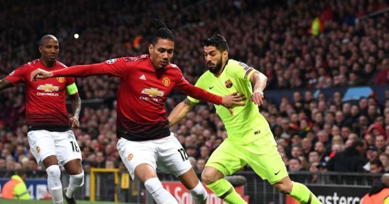 Manchester United vs Barcelona. (Dok: Idngoalnews)