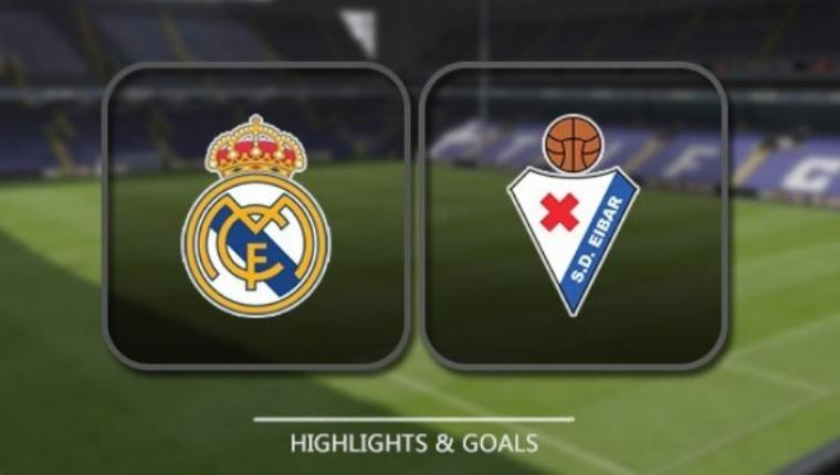 Real Madrid vs Eibar. (Dok: 9Sportpro)