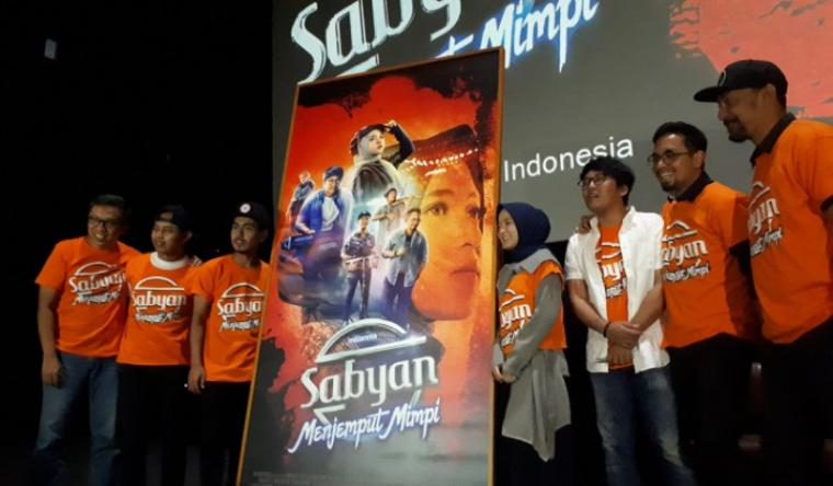 Grup band religi Sabyan Gambus. (Dok: Padamasa)