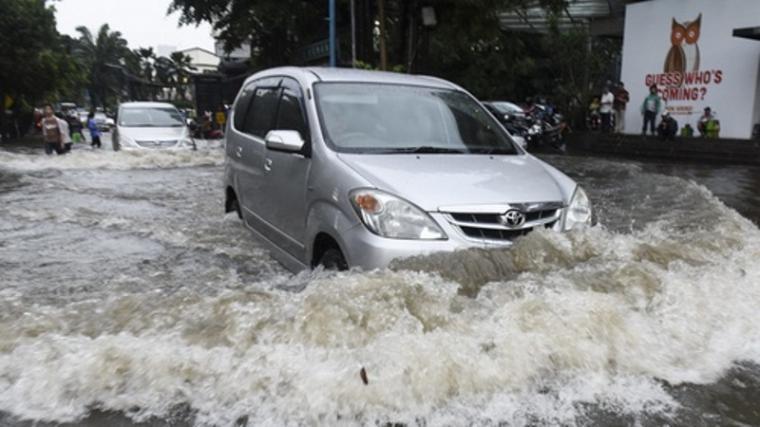 Ilustrasi banjir. (Dok: Tirto)