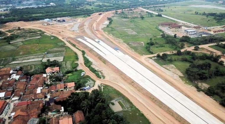 Ilustrasi pembangunan jalan jol. (Dok: Bantenraya)