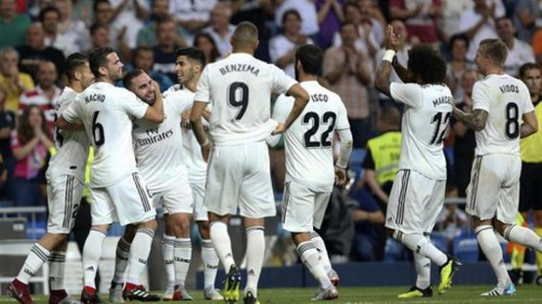 Sejumlah Pemain Real Madrid. (Dok: Tirto)