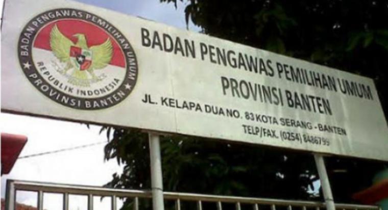 Bawaslu Banten. (Dok: Rmol Banten)