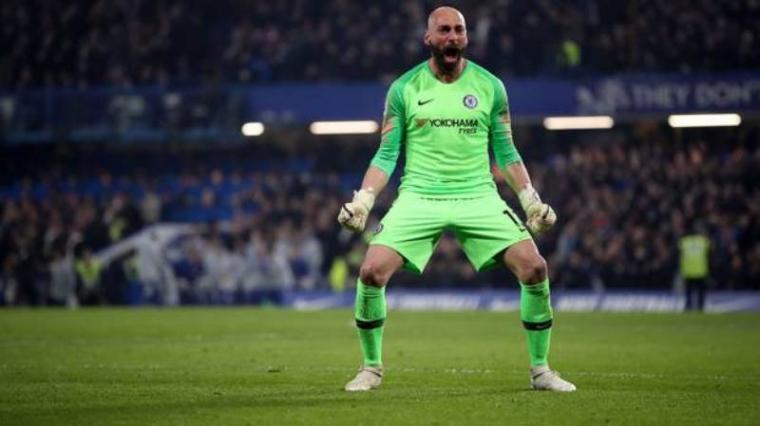 Chelsea Resmi Perpanjang Kontrak Willy Caballero Selama Satu Musim