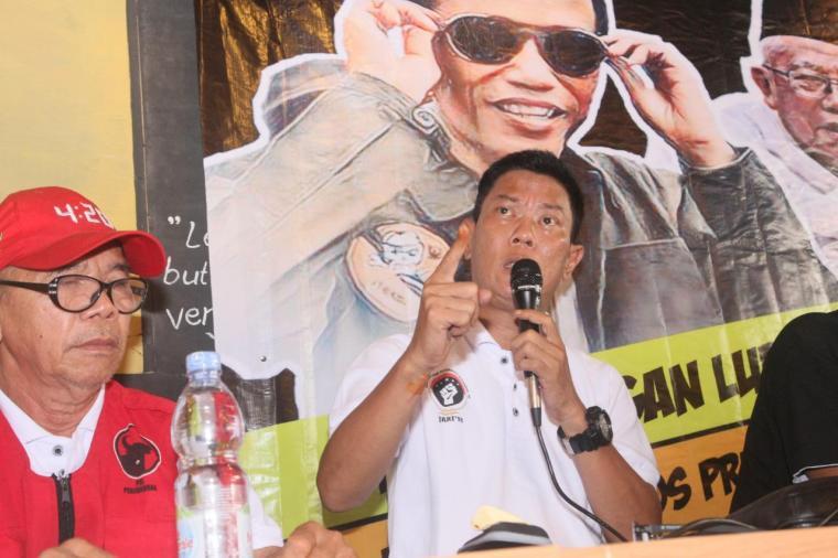 Ketua presidium JARI 98 Willy Prakasa. (Foto: TitikNOL)