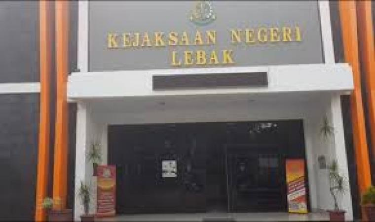 Kantor Kejaksaan Negeri Kabupaten Lebak. (Dok: Radarbanten)